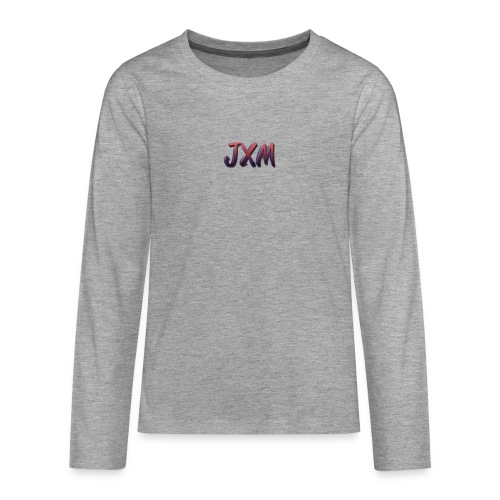 JXM Logo - Teenagers' Premium Longsleeve Shirt