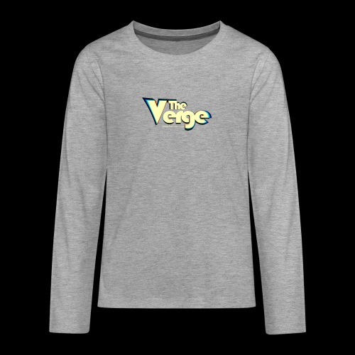 The Verge Vin - T-shirt manches longues Premium Ado