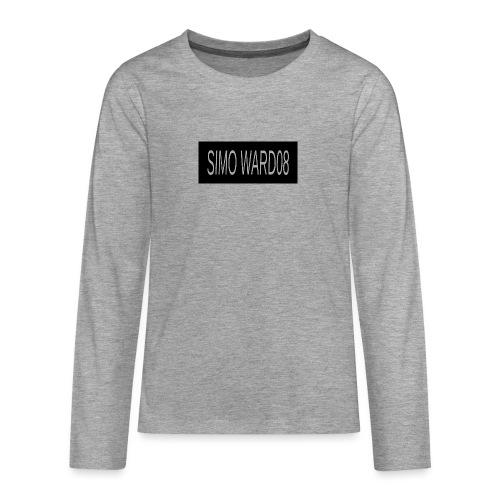 SIMO WARD08 - Teenagers' Premium Longsleeve Shirt