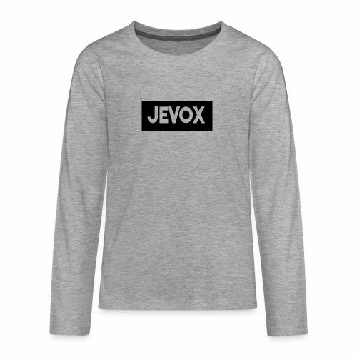 Jevox Black - Teenager Premium shirt met lange mouwen