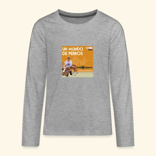 Un mundo de perros 1 03 - Camiseta de manga larga premium adolescente