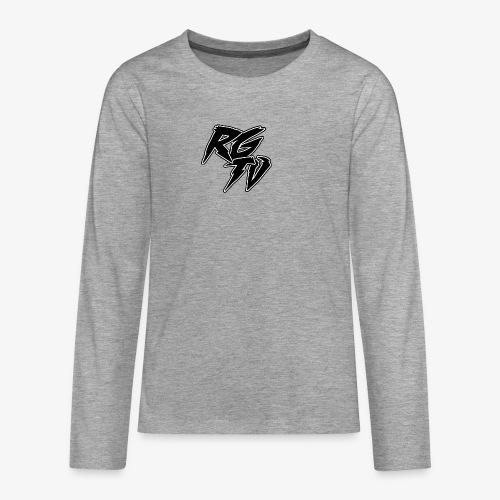 RGTV LOGO - Teenagers' Premium Longsleeve Shirt