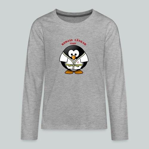 VisbyPenguins - Långärmad premium T-shirt tonåring