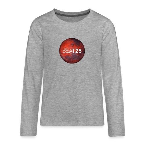 Mars and Logo - Teenagers' Premium Longsleeve Shirt
