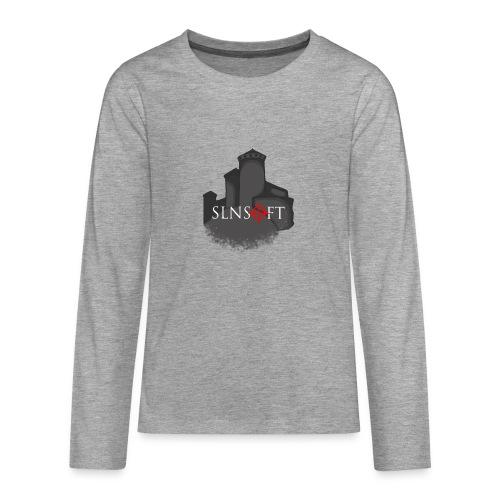 slnsoft - Teinien premium pitkähihainen t-paita