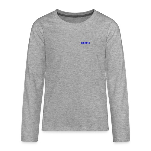 GG12 - Teenagers' Premium Longsleeve Shirt