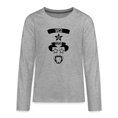 westonsunset_head - Teenagers' Premium Longsleeve Shirt