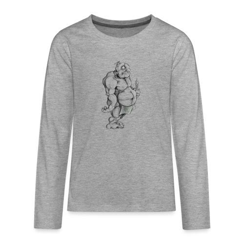 Big man - Teenager Premium Langarmshirt
