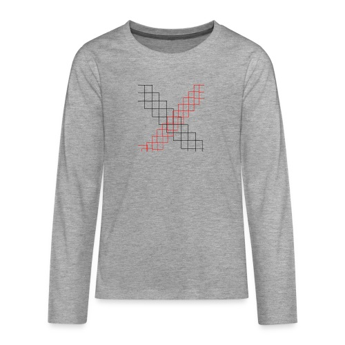 squares - T-shirt manches longues Premium Ado