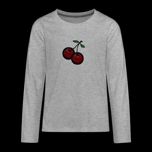 CHERRIES - Teenager Premium shirt met lange mouwen