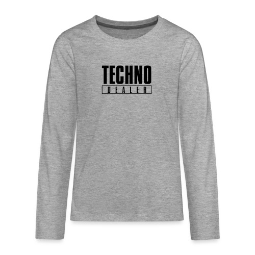 Techno dealer - Teenagers' Premium Longsleeve Shirt