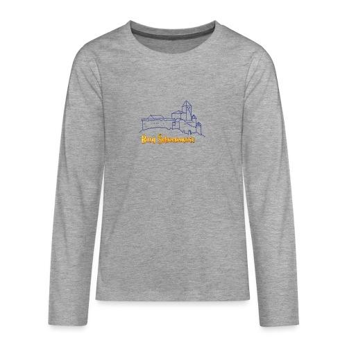 Kinder Kapuzenpullover - Burg Schreckenstein - Teenager Premium Langarmshirt