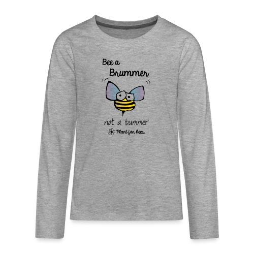 Bees6 - Save the bees - Teenagers' Premium Longsleeve Shirt