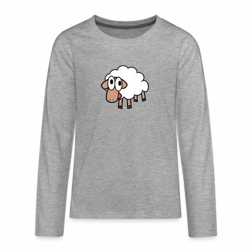 Sheep Cartoon - Teenager Premium shirt met lange mouwen