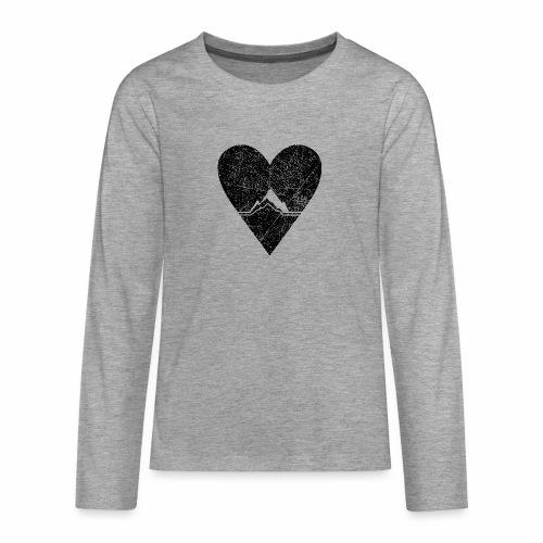 Bergliebe - used / vintage look - Teenager Premium Langarmshirt