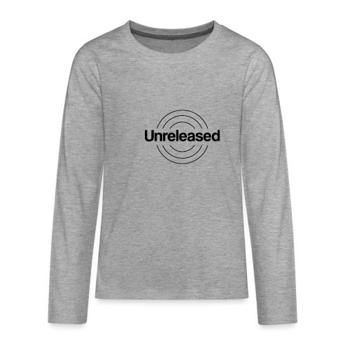 unreleased black - T-shirt manches longues Premium Ado