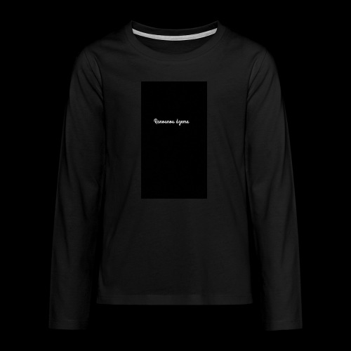 Body design Ranounou dezma - T-shirt manches longues Premium Ado