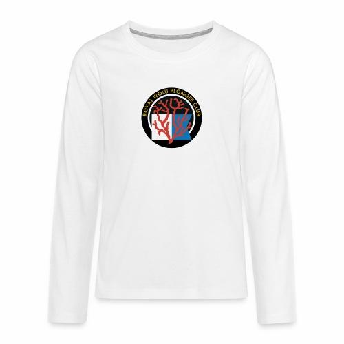 Royal Wolu Plongée Club - T-shirt manches longues Premium Ado
