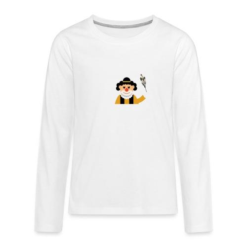 Clown - Teenager Premium Langarmshirt