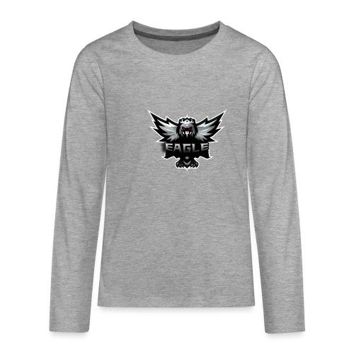 Eagle merch - Teenager premium T-shirt med lange ærmer