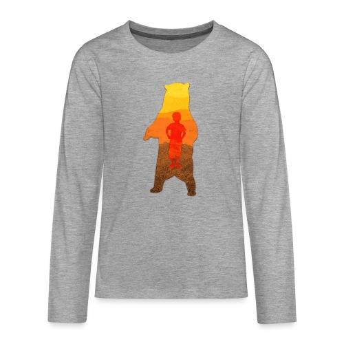 De Berenjongen - Teenager Premium shirt met lange mouwen