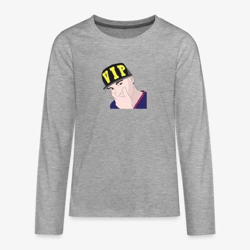 boy-1297746_960_720 - Teenager premium T-shirt med lange ærmer