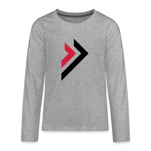Logo de Sylmora - T-shirt manches longues Premium Ado