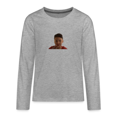 WIN 20170901 115015 burned 1 - Teenager Premium shirt met lange mouwen