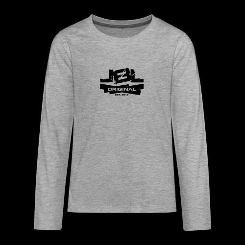LBL Original white - Teenagers' Premium Longsleeve Shirt