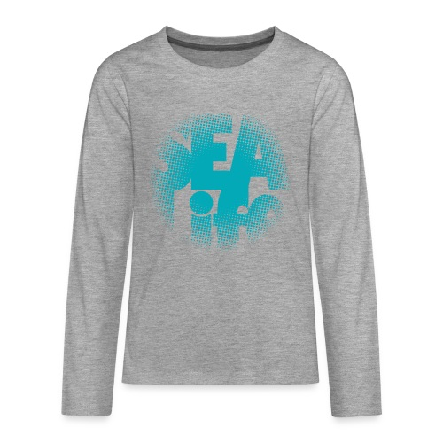 Sealife surfing tees, clothes and gifts FP24R01A - Teinien premium pitkähihainen t-paita