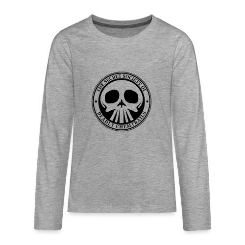 DEADLY CHEMTRAILS - Koszulka Premium z długim rękawem dla nastolatków