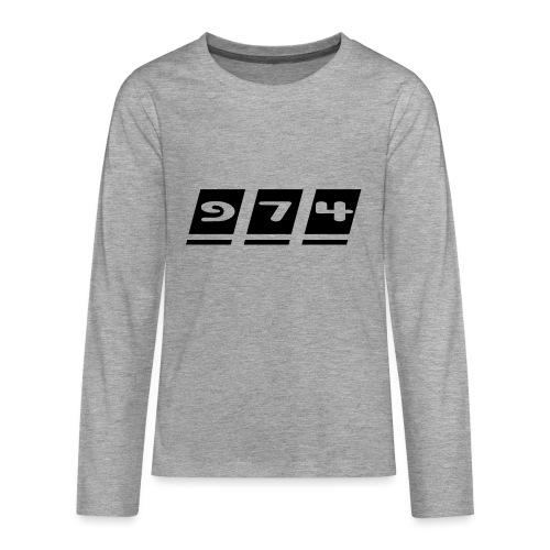 Ecriture 974 - T-shirt manches longues Premium Ado
