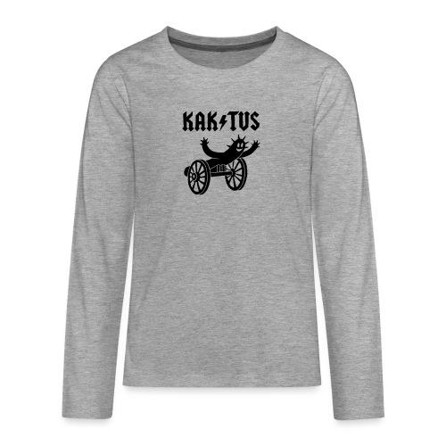 Kaktus Rock - Teenager Premium Langarmshirt