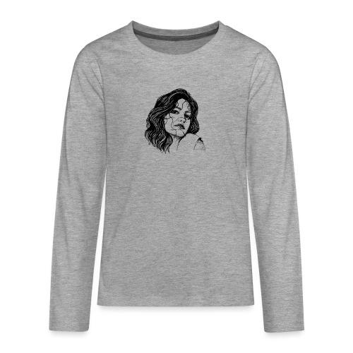 Junge Frau - Teenager Premium Langarmshirt