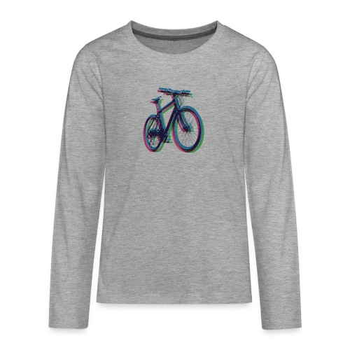 Bike Fahrrad bicycle Outdoor Fun Mountainbike - Teenagers' Premium Longsleeve Shirt