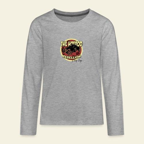 hotrod rebellion - Teenager premium T-shirt med lange ærmer