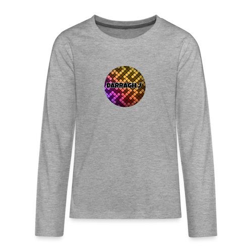Darragh J logo - Teenagers' Premium Longsleeve Shirt