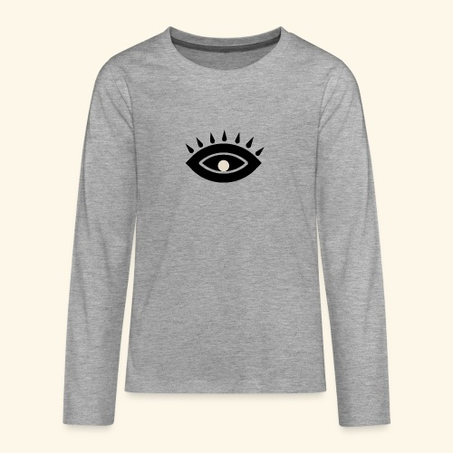 third eye - Långärmad premium T-shirt tonåring