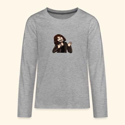 LEATHERJACKETGUY - Teenagers' Premium Longsleeve Shirt