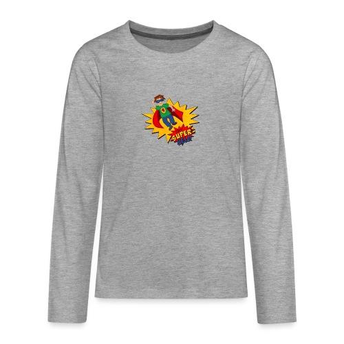 kleiner Superheld - Teenager Premium Langarmshirt