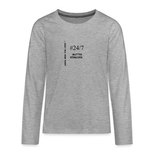 Muttersöhnchen - Teenager Premium Langarmshirt