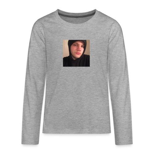bästa you tuben - Långärmad premium T-shirt tonåring