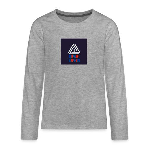 BlueZovinshirt - Teenagers' Premium Longsleeve Shirt