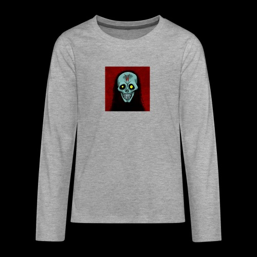 Ghost skull - Teenagers' Premium Longsleeve Shirt