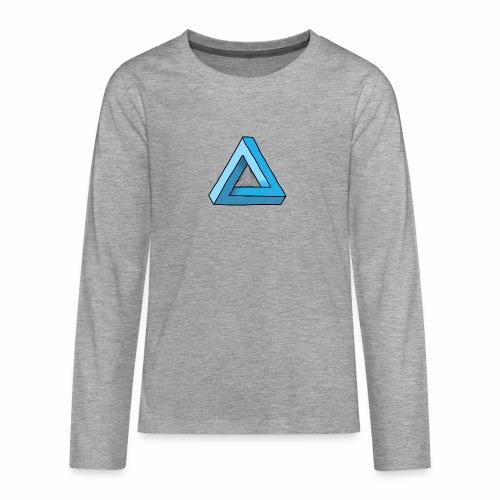 Triangular - Teenager Premium Langarmshirt