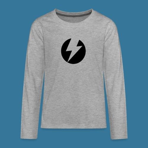 BlueSparks - Inverted - Teenagers' Premium Longsleeve Shirt