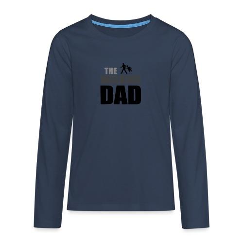 the walking dad auf dem Weg in die lustige Bar - Teenager Premium Langarmshirt