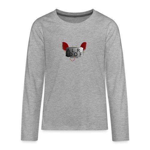 Adlorf - Koszulka Premium z długim rękawem dla nastolatków