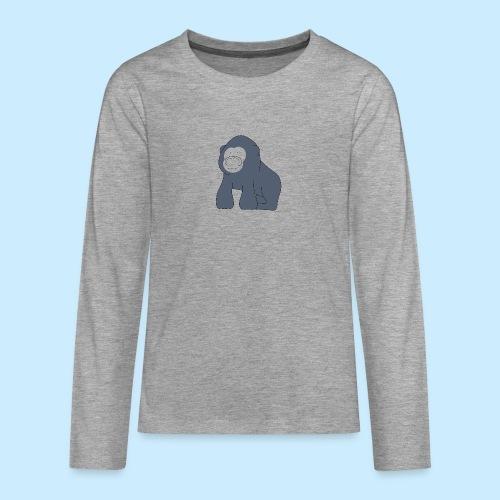 Baby Gorilla - Teenagers' Premium Longsleeve Shirt