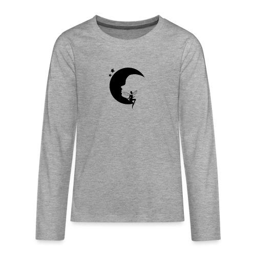 Fée de la Lune - T-shirt manches longues Premium Ado